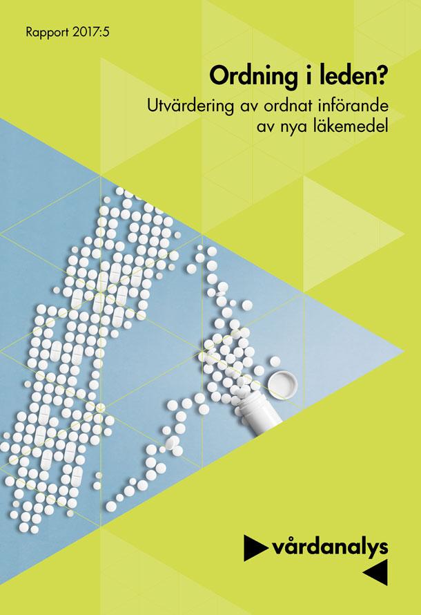 Omslagsbild med piller på Sverigekarta