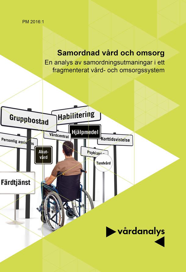 Omslag person i rullstol framför vägskyltar