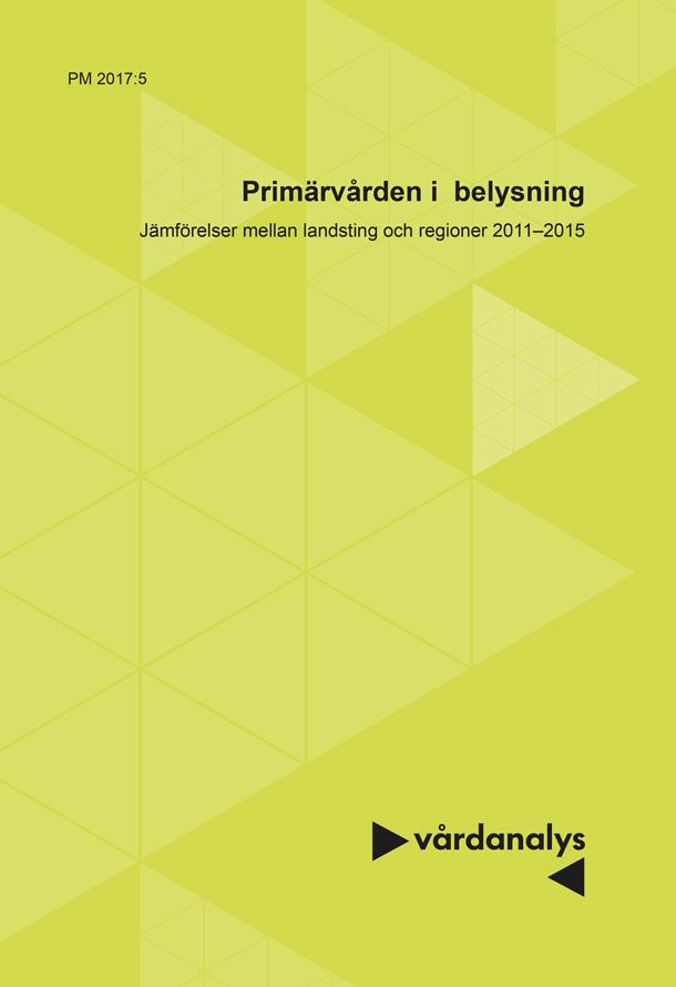 Omslag: Primärvården i belysning