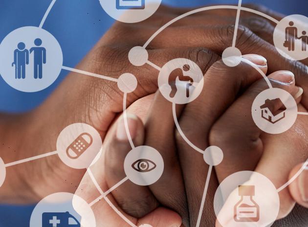 Ett nätverk med olika aspekter av vård och omsorg